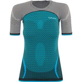 UYN Running Alpha OW SS Shirt Women surf/paloma